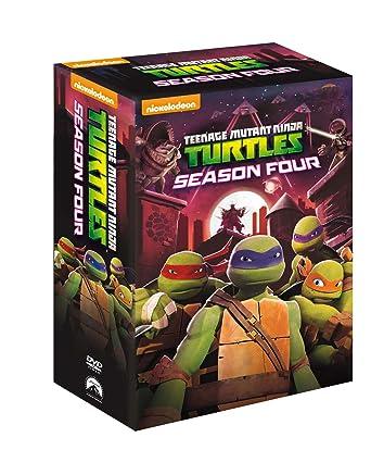 Teenage Mutant Ninja Turtles - Stagione 4 Completa 4 DVD ...