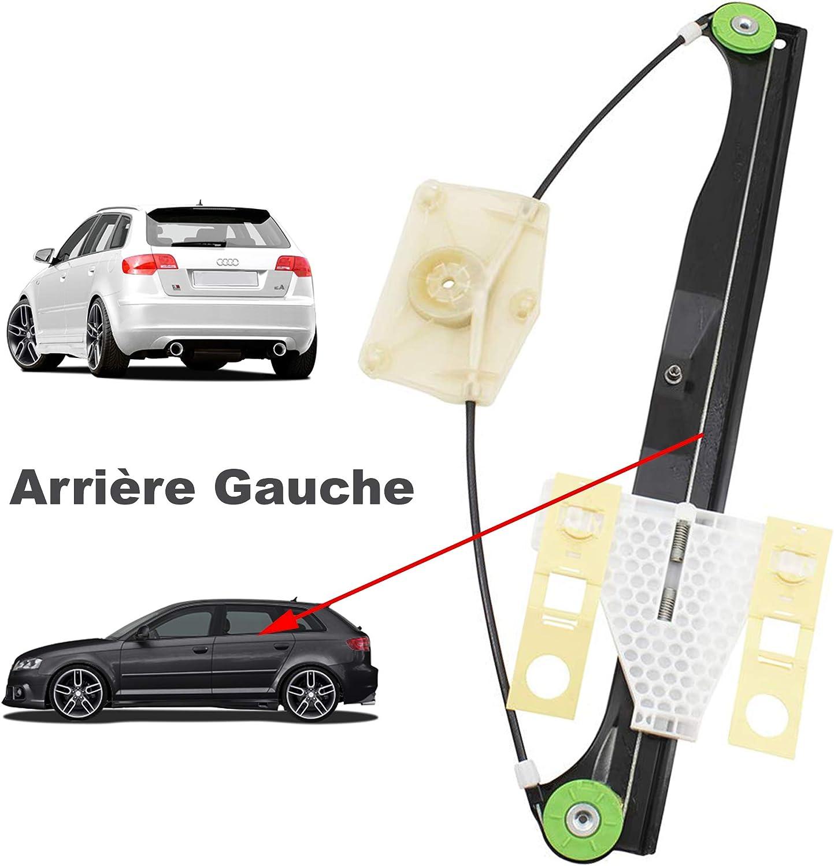 Autopa 8P4839461A L/éve-vitre Arri/ère Gauche sans Moteur /Électrique