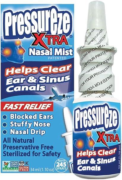 Goteo nasal y presión sinusal