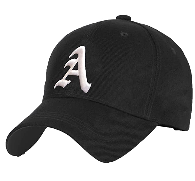 00f7d7daf95f Cotton Baseball Mütze Cap Caps Gothic 3D A-Z BAD SWAG schwarz Snapback with Adjustable  Strap Snap Back (A)  Amazon.de  Bekleidung
