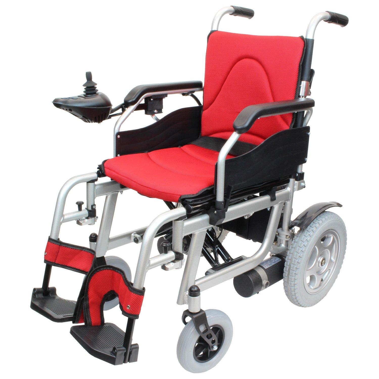 ケアテックジャパン 電動車椅子 ハピネスムーブ CE20-HSU-12 (レッド) B0771CWJR8 レッド レッド
