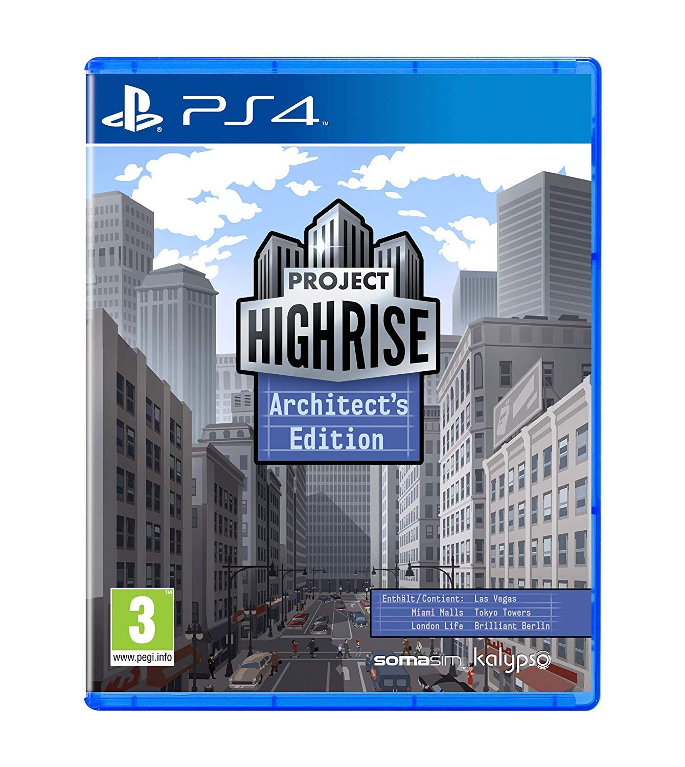 Project Highrise Architects Edition (PS4) (UK IMPORT)