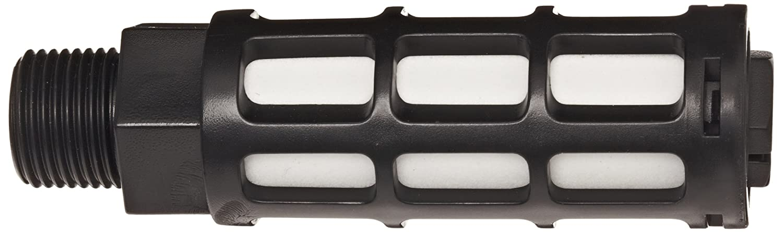150 psi 3//8 NPT 247 scfm Flow Parker ASN-10 Acetal Plastic Exhaust Air Line Silencer