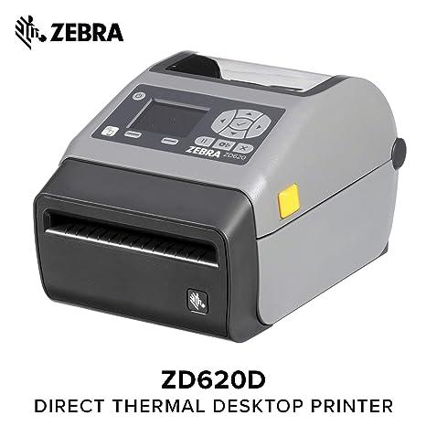 Amazon com : Zebra - ZD620d Direct Thermal Desktop Printer