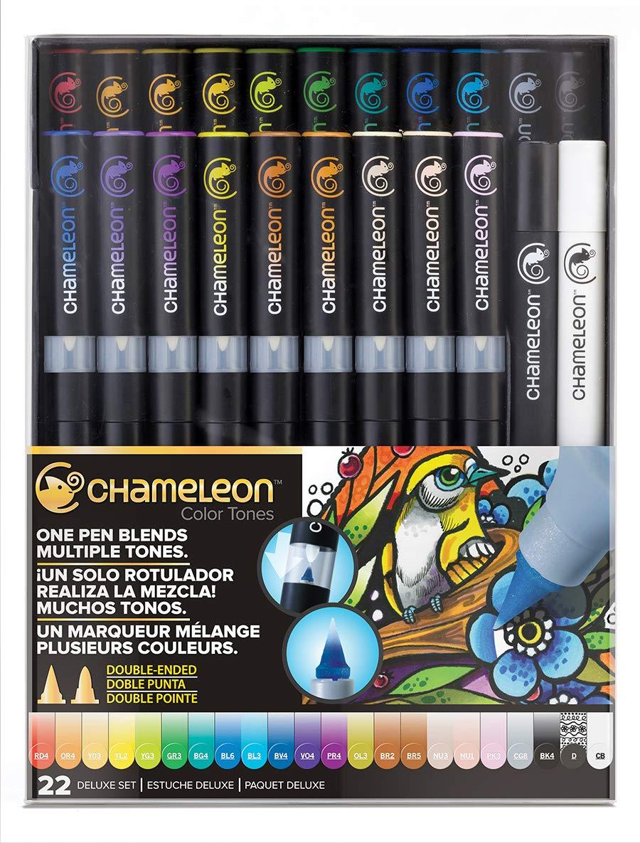Chameleon Art Products, Chameleon 22-Pen Deluxe Set (Chameleon 5-Pen Skin Tones Set) Chameleon Art Products Inc.