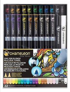 Chameleon Art Products Marqueurs Chameleon Pens 22 De Luxe
