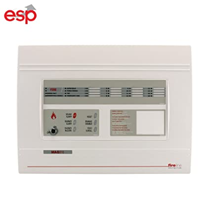 Fuego Panel de alarma 8 zona Panel de control de fuego esp ...