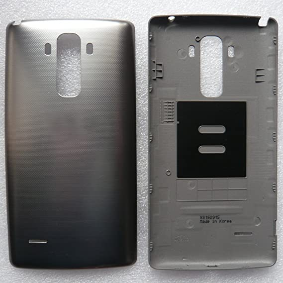 Replacement for LG G Stylo LS770 [Sprint] and LG G Stylo H631 [T-Mobile]  Battery Door [OEM] LGSTYLODR (A), Black (Bulk Packaging)