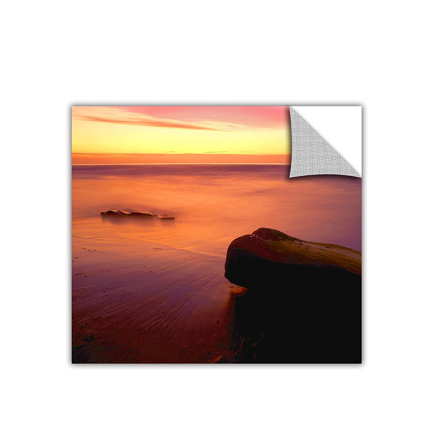 ArtWall Appealz Dean Uhlinger Deep Twilight Removable Graphic Wall Art 24 by 24-Inch