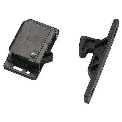 Decorite 5838 - RV Black Push Latch - 5lb - C3-805 - H315 (1): Home Improvement