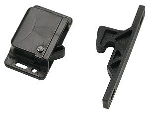 Decorite 5838 - RV Black Push Latch - 5lb - CL-308 (1)