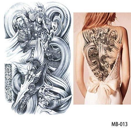 adgkitb 2 Piezas Pegatinas de Tatuaje de Tatuaje en el Pecho ...