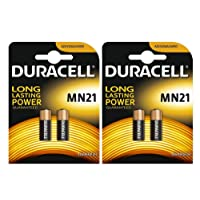 Duracell MN21 batteria alcalina speciale 12 V, pacco batterie a lunga durata 4
