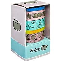 Undercover PUSH0093 Washi Tape-set, serie Pusheen, 5 rollen, verschillende motieven, decoratieve plakbanden voor…