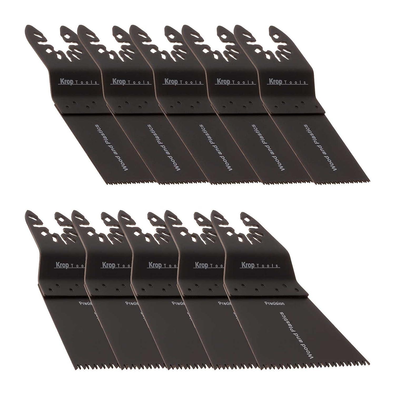 10 DeWalt Multifunktionswerkzeug Zubehö r Black & Decker Holz Schnellentriegelung, Doppelsatz-2a Stanely FatMax WORX Sonicrafter Hyperlock von KROP Krop Tools