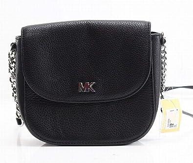 1561ae183d5c Michael Kors Mott Crossbody Bag- Black  Handbags  Amazon.com
