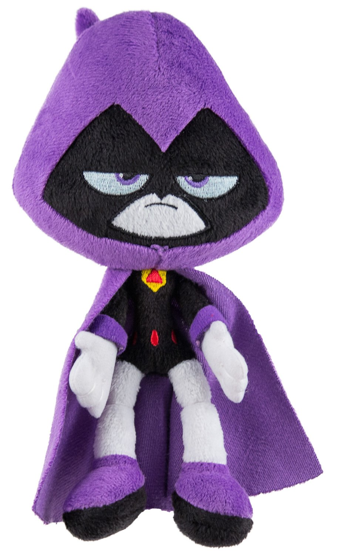 Raven ~7.5 Mini-Plush Plush Series Mattel Teen Titans Go