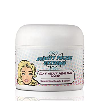 Amazon Com Acne Treatment Clay Mask Clears Away Clogged Pores Blackhead Whitehead Pimples Blemishes Scars Oily Skin For Face Body Ingredients Including Sulfur Bentonite Kaolin Jojoba Oil