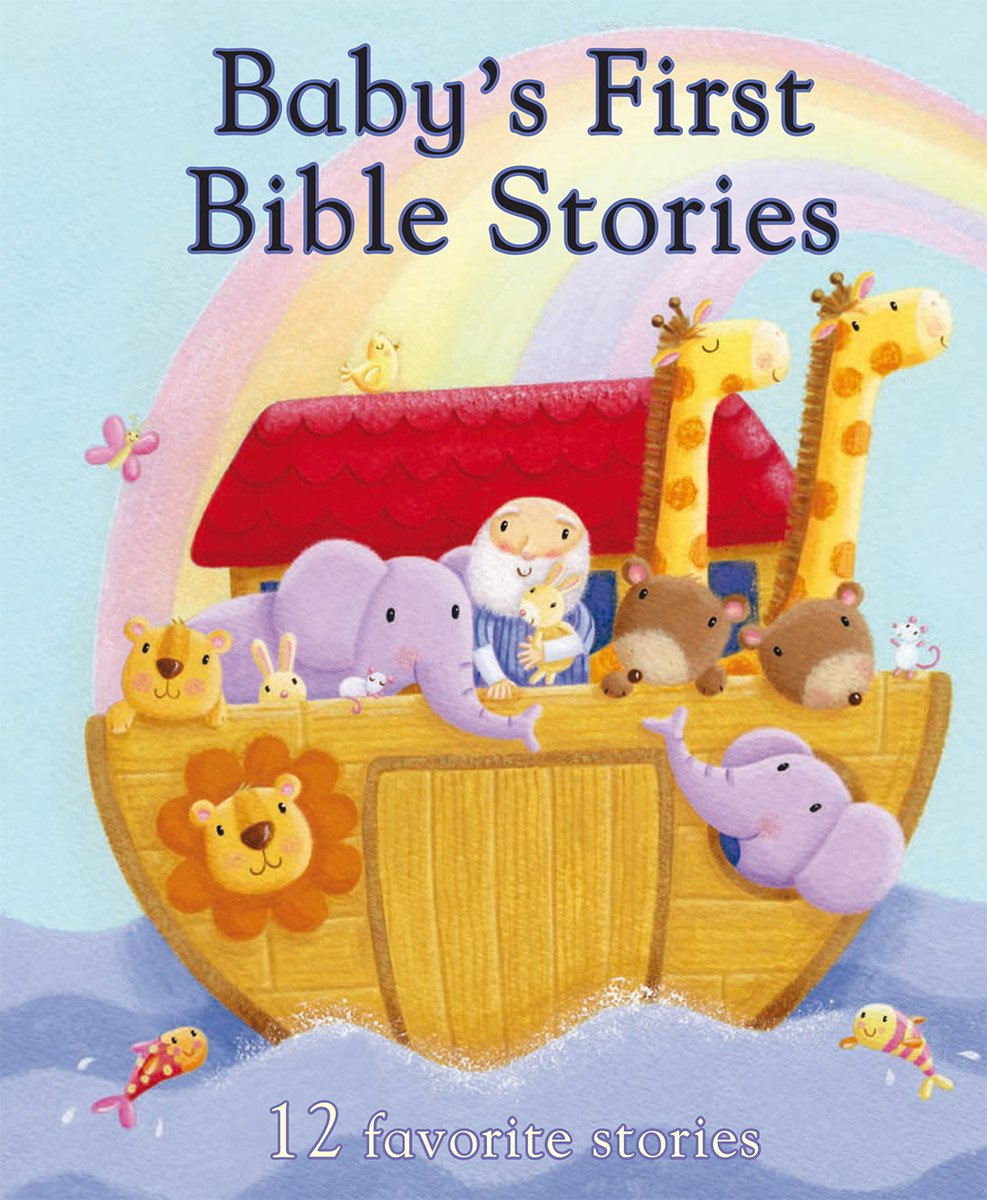 baby u0027s first bible stories first padded parragon books