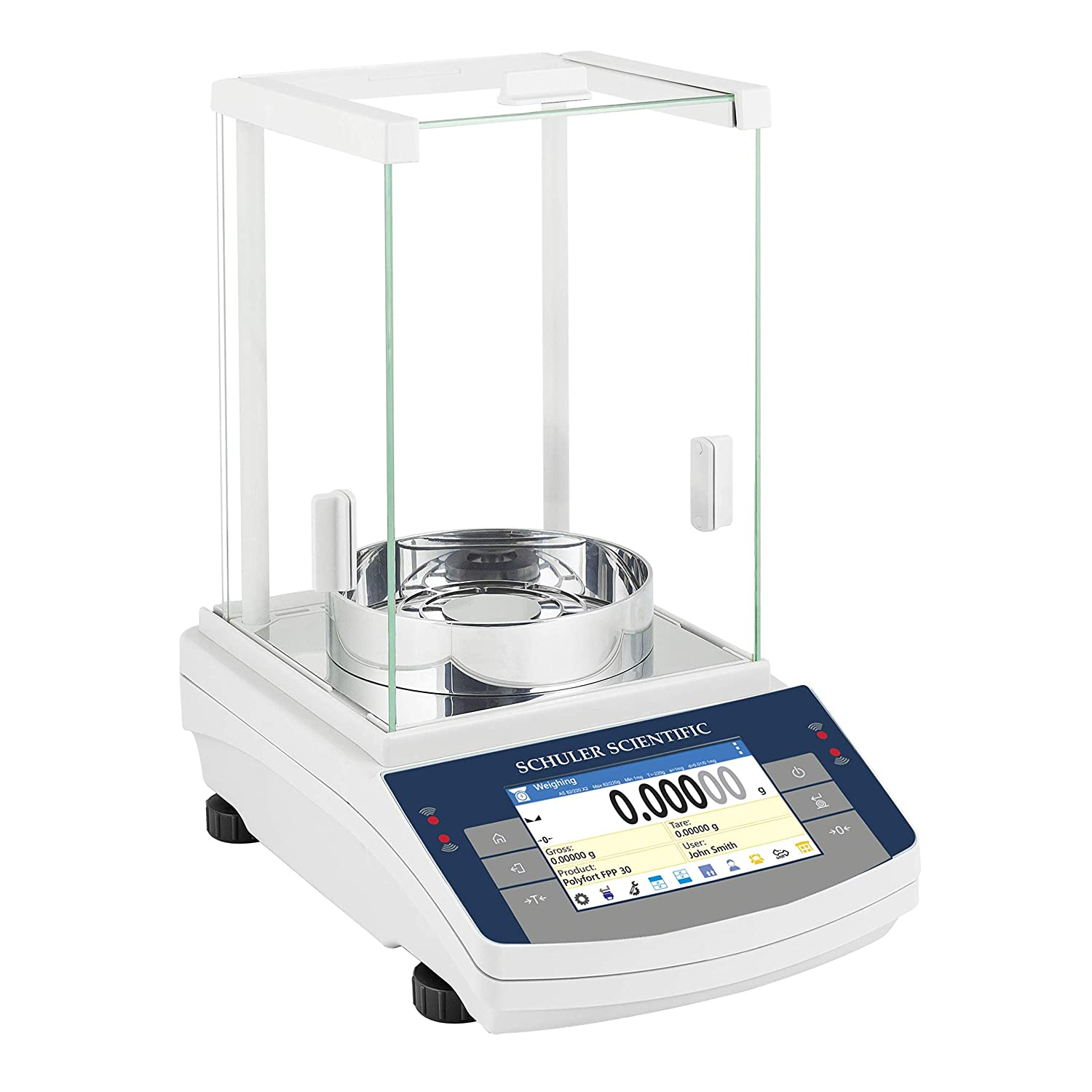 Image of Analytical Balances Schuler Scientific SAS-225.TD Series Semi-Micro Balance with 0.01 mg/0.1 mg Readability and 82 g/220 g Capacity