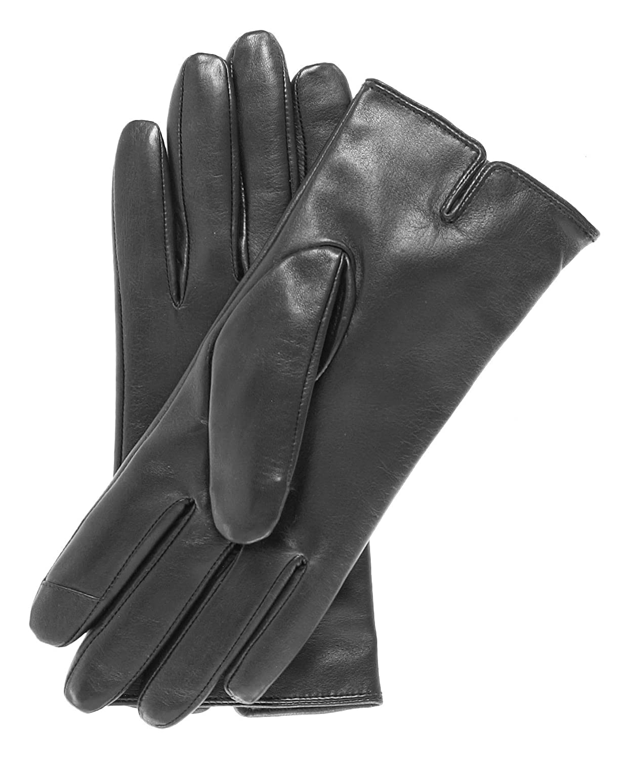 Black leather gloves brisbane - Pratt And Hart Women S Wool Lined Touchscreen Leather Gloves Size 6 1 2 Color Black At Amazon Women S Clothing Store Cold Weather Gloves