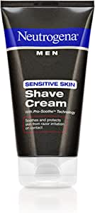 Neutrogena Men Sensitive Skin Shave Cream 5.10 oz Pack of 4