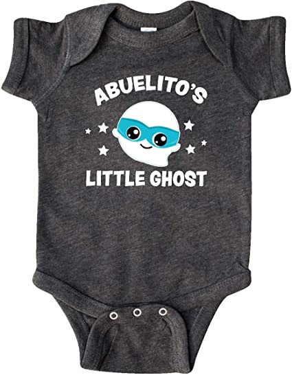 inktastic Cute Abuelitos Little Ghost with Stars Toddler Long Sleeve T-Shirt
