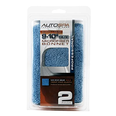 "AutoSpa 40408AS Microfiber 9-10"" Polishing Bonnet: Automotive"