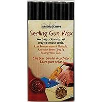 Manuscript Pen Sealing Gun Wax Stickers, 6-Pack Green