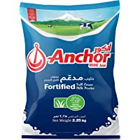 Anchor Fortified Full Cream Milk Powder From Grass Fed Cows 2.25 Kg (Pouch)