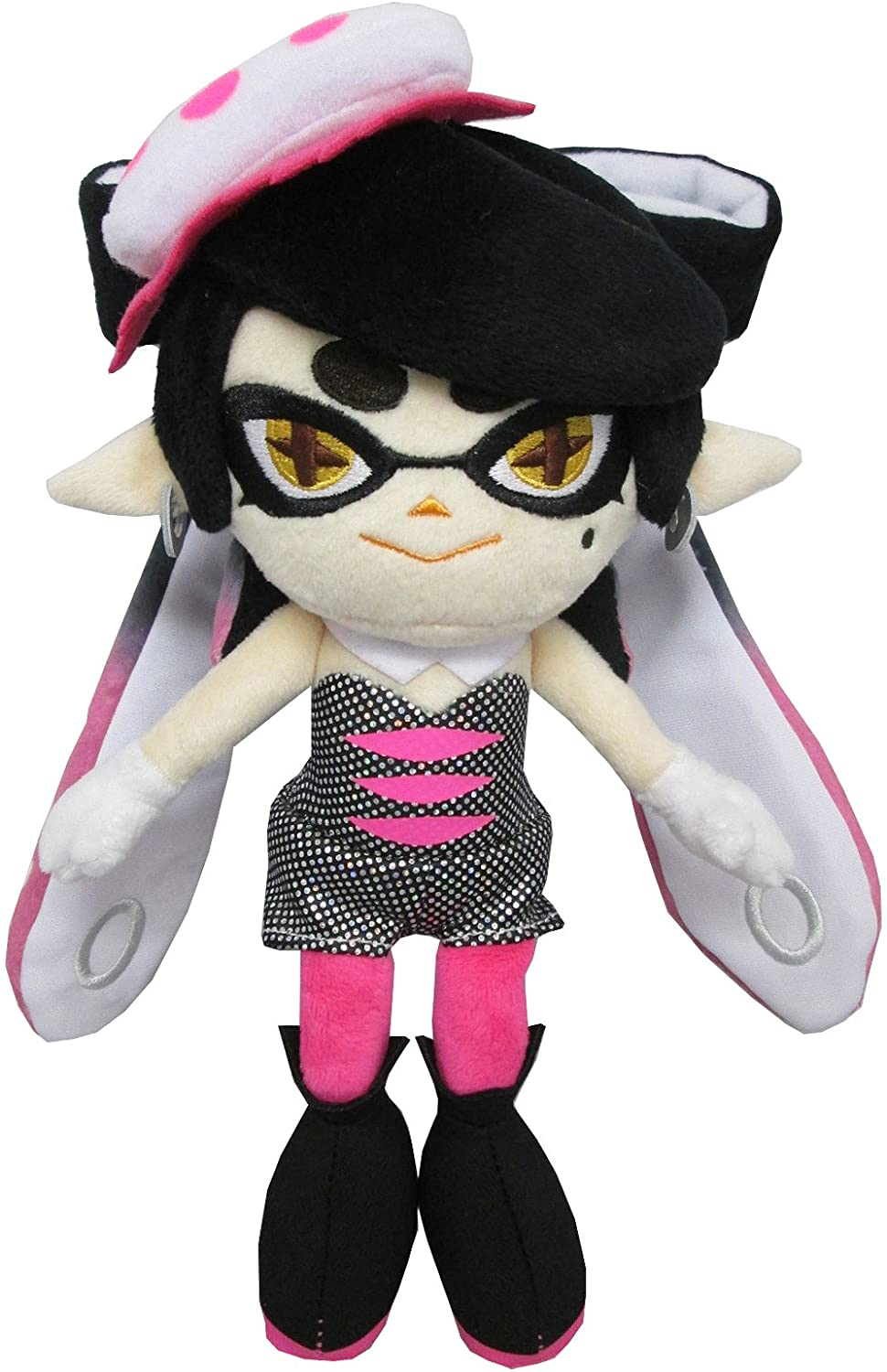 "Official Sanei Splatoon Marie Green Squid Sister Plush Toy Doll 9/"" Octopus Gift"
