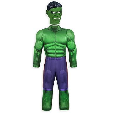Marvel Disfraz de Hulk niños, Multicolor, 13: Amazon.es: Ropa y ...