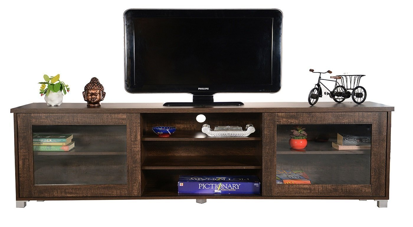DeckUp Versa Home Entertainment And TV Unit Wenge Matte Finish