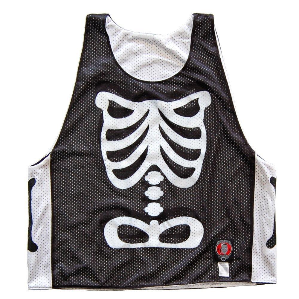 Skeleton Lacrosse Reversible Pinnie