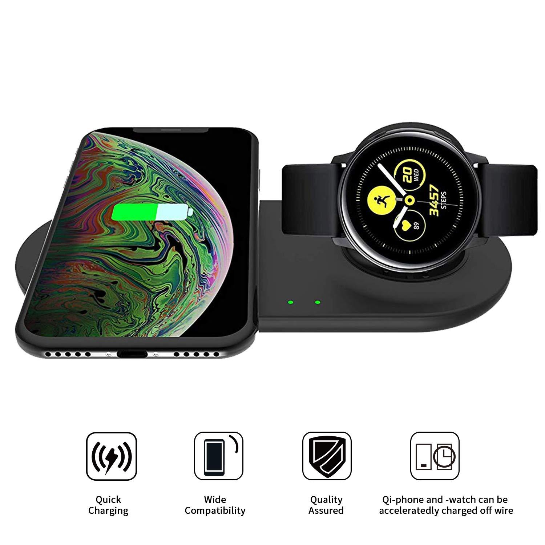 VICARA - Cargador inalámbrico para Samsung Galaxy Watch ...