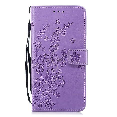 9844d8e6345 DENDICO Cover iPhone 8 Plus/iPhone 7 Plus, Custodia in Pelle Magnetica Portafoglio  Cover