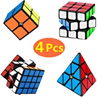 Yetech 4PCS Cubo Mágico Puzzle Pack - Speed