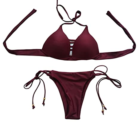 swall owuk Mujer Sexy Bikini Traje De Natación Split ...