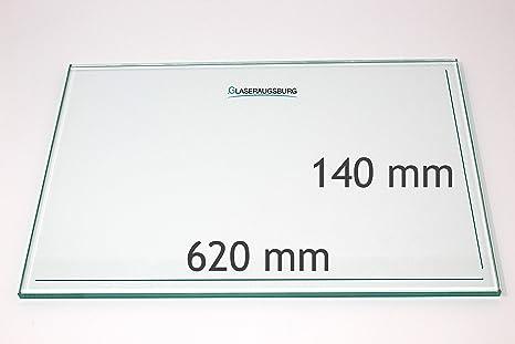 alle Ma/ße lieferbar Klarglas 4 mm stark 250 mm x 120 mm Glasplatte//Glasregal