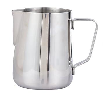 Jarra para espuma de leche, de acero inoxidable, para hacer crema para el café