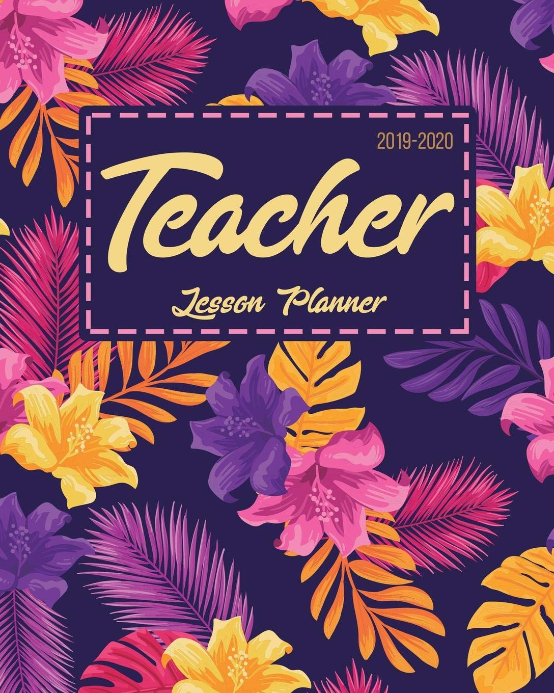 Teacher Lesson Planner: Weekly and Monthly Teacher Planner ...