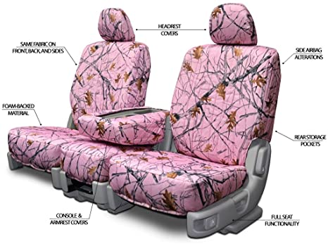 Amazon.com: Custom Fit Seats Covers - Toyota Rav 4 Low Back Seats - Pink Camouflage Fabric: Automotive