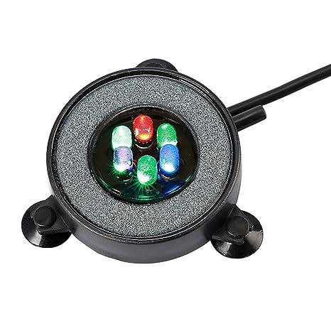 De Aquarium D'air Lampe Nicrew Couleur6 Avec Bulle Colorée SubmersibleLumière Led Éclairage Auto Changement Décoration 345ARjLq