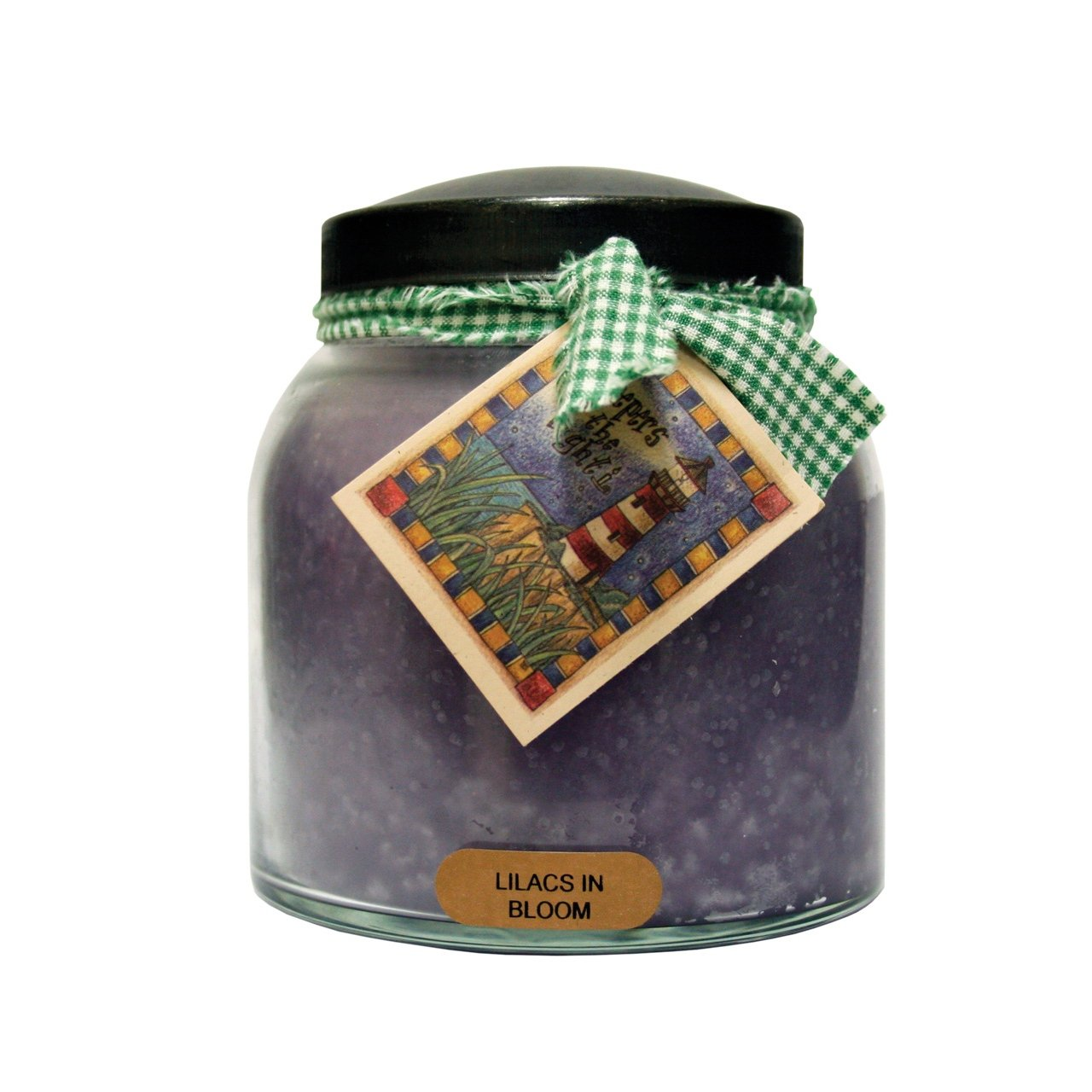 A Cheerful Giver A Lilacs in Bloom 34 oz. Papa Jar Candle, 34oz