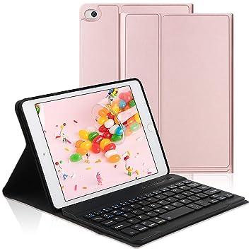 Amazon.com: Funda con teclado para iPad Mini y iPad 9.7 ...