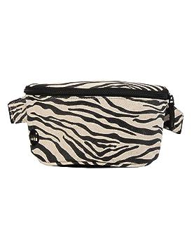 1865c67840 Mi-Pac Bum Bag Premium Canvas Zebra Sac Banane Sport, 24 cm, Noir ...