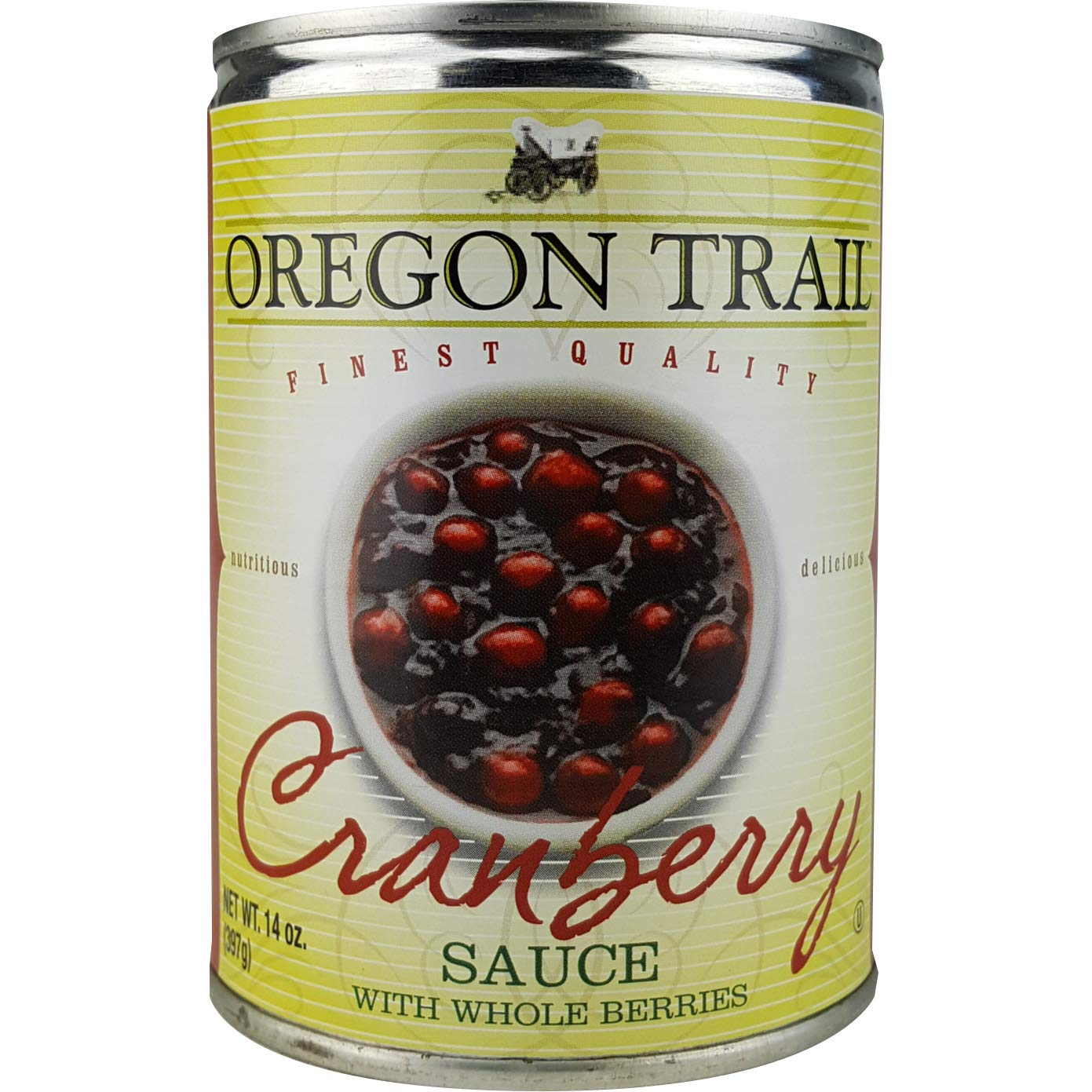 (Pack of 24) Oregon Trail Cranberry Sauce Jelly, 14oz