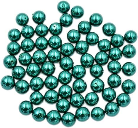200 Tamaños Surtidos 4mm 6mm 8mm 10mm Glass Perlas Elige Color