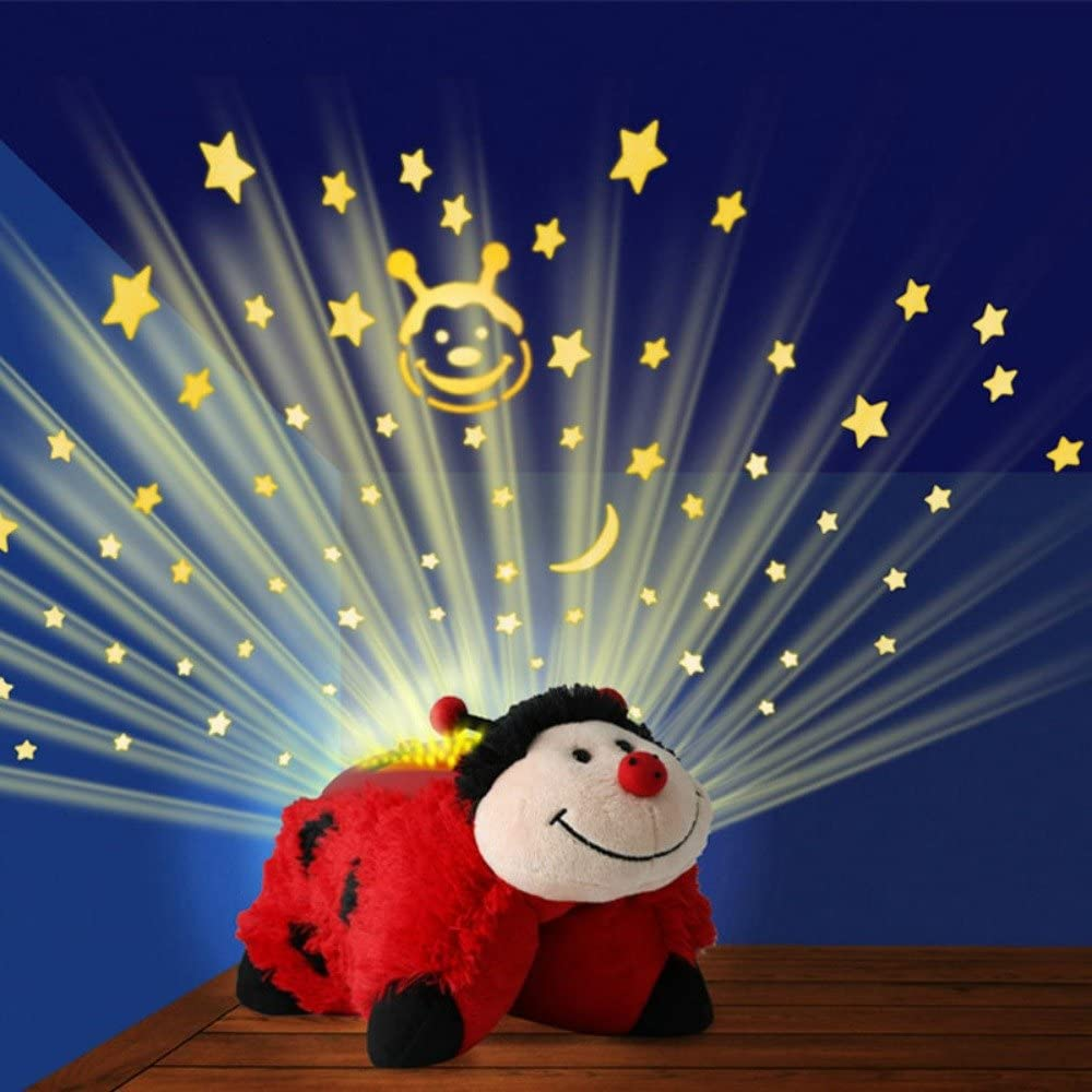 Ms Pillow Pets Dream Lites Ladybug 11
