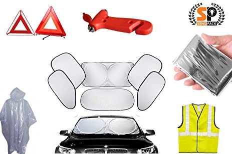 Amazon Com 7 1 Car Safety Care Essential Kit Blowout Sale With